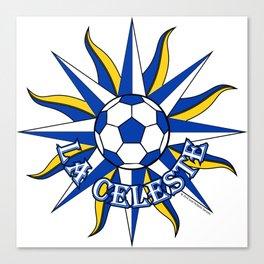 Uruguay La Celeste (The Sky Blue) ~Group A~ Canvas Print