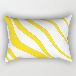 Abstract Graphic Sunshine Rectangular Pillow