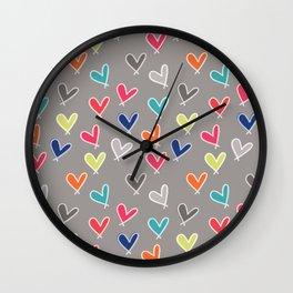 Blow Me One Last Kiss Wall Clock