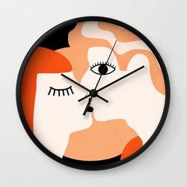 Kiss2 Wall Clock