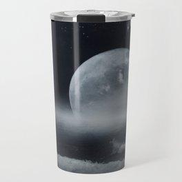 moon-lit ocean Travel Mug