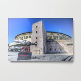 Besiktas Football Club Stadium Istanbul Metal Print