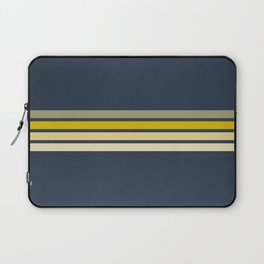 Racing Retro Stripes Laptop Sleeve