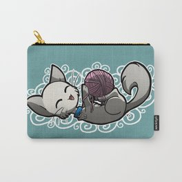 Zodiac Cats - Libra Carry-All Pouch