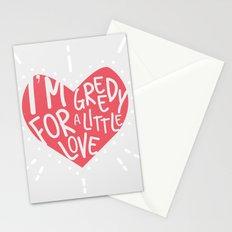 Greedy Love Stationery Cards