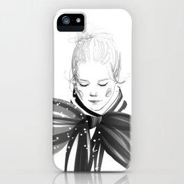 Black Bow iPhone Case