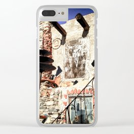 Mystery Castle Clear iPhone Case