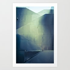 Gehry Stairs Art Print
