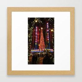 Radio City Music Hall Dec. 2010 Framed Art Print