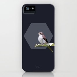 Spotted flycatcher iPhone Case