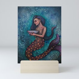 Scrying Mermaid Mini Art Print
