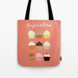 Baker's Joy Collection: Cupcakes Tote Bag