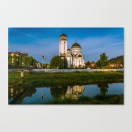Sighisoara, Romania Canvas Print