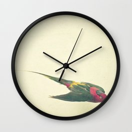 Bird Study #4 Wall Clock