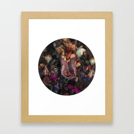 Portrait of a Dying Rose. Framed Art Print
