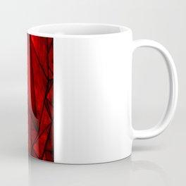 Modern Abstract Triangle Pattern Coffee Mug