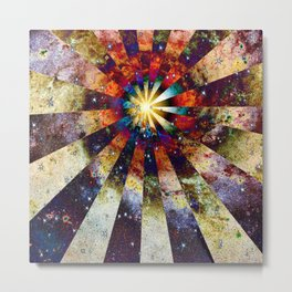 Space Odyssey - Big Bang I Metal Print