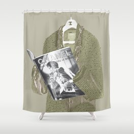 Forever I: Lecture Shower Curtain