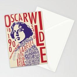 Oscar Wilde - La Bella Donna Della Mia Mente Stationery Cards