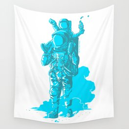 Onwards, Space Dad! Wall Tapestry