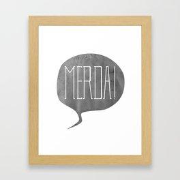 Oh, $hi-- Framed Art Print