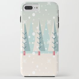 Festive Moments - Christmas woods iPhone Case