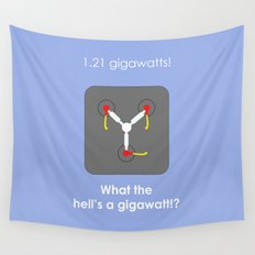 Back to the Future - Flux Capacitor Wall Tapestry