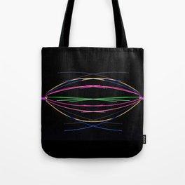 Crossed Wires Tote Bag