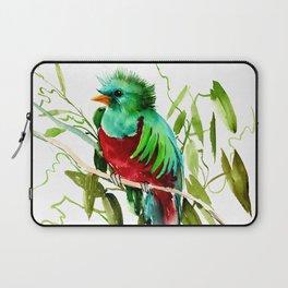 Quitzal Bird Laptop Sleeve