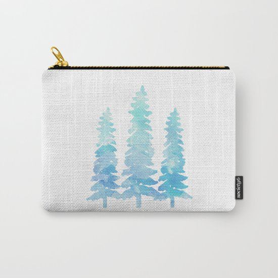 Tahoe Trees  Carry-All Pouch