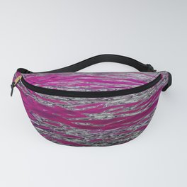 Flowing Water in Pink Fanny Pack