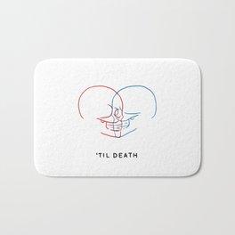 'Til Death (Minimal) Bath Mat