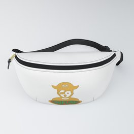 Pirate king of the sea Cool & Confusing Tshirt Design Confused pirate Fanny Pack