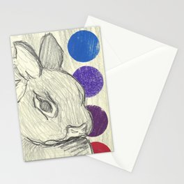 royalty (rabbit & hare series) Stationery Cards