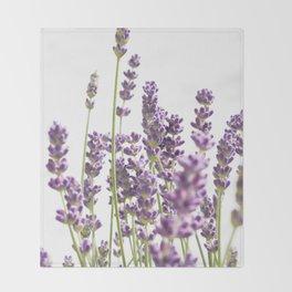 Purple Lavender #3 #decor #art #society6 Throw Blanket