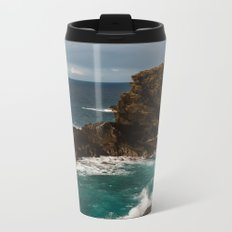 Oahu Hawaii Metal Travel Mug
