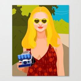 Roller Girl Canvas Print