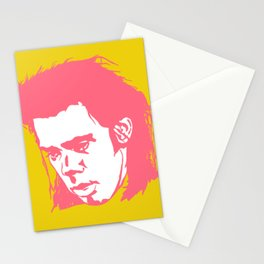 Sad Nick Cave #2 Stationery Cards