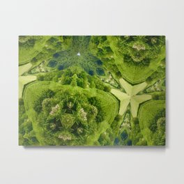 My World From Above Metal Print
