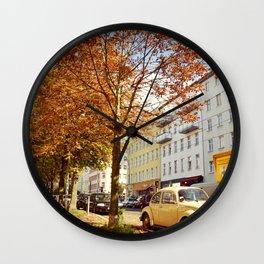 Kastanien Allee Wall Clock