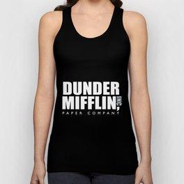 dunder miff-lin paper company boyfriend t-shirts Unisex Tank Top