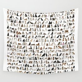 Dogs, Dogs and dogs Wall Tapestry