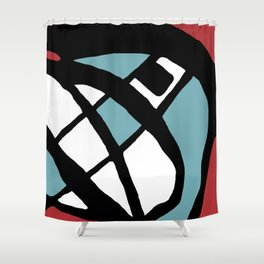 Abstract Painting Design - 2 Shower Curtain