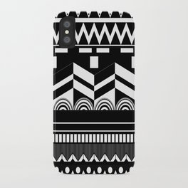 Graphic_Black&white #2 iPhone Case