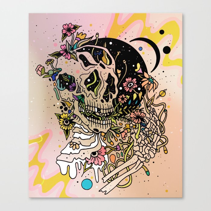 TEEMING Canvas Print