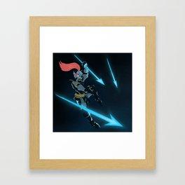 Undyne Framed Art Print