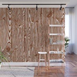 c13D Woodgrain Wall Mural