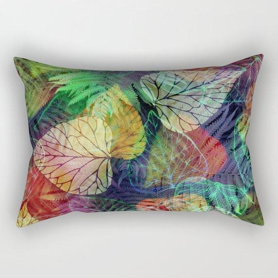 Forest Flora Rectangular Pillow