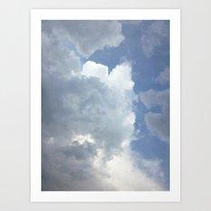 The Dark Clouds Of Rain Art Print