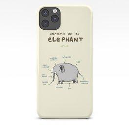 Anatomy of an Elephant iPhone Case